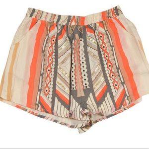 Mink Pink Mayan Temple Shorts